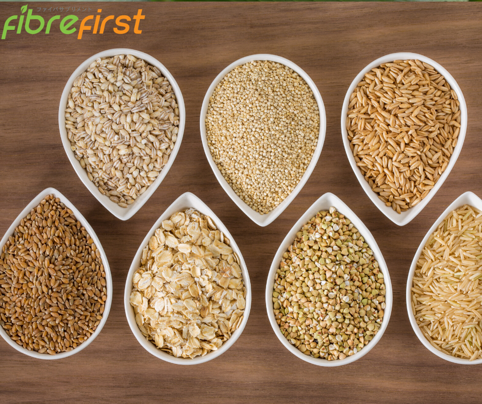 Whole grains help lower cholesterol due to its high-fibre content.