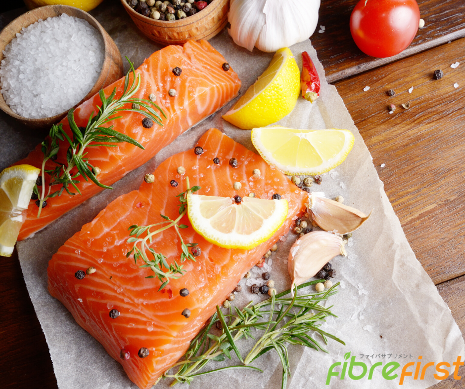Omega-3 fats found in fishlessens triglycerides in our bloodstream good for heart health.
