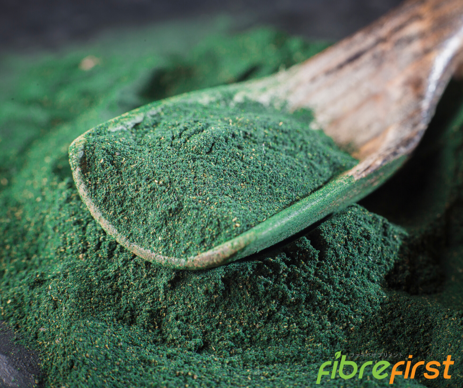 The nutrients found in spirulina also helps boost the body's endurance.