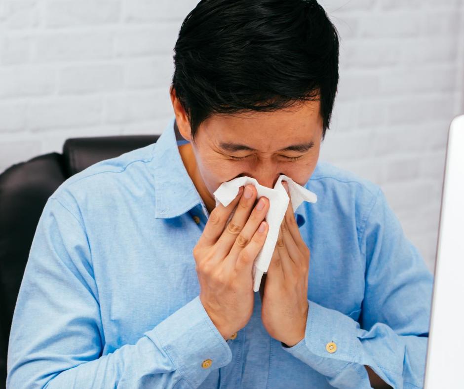 Spirulina can help alleviate symptoms of allergy.