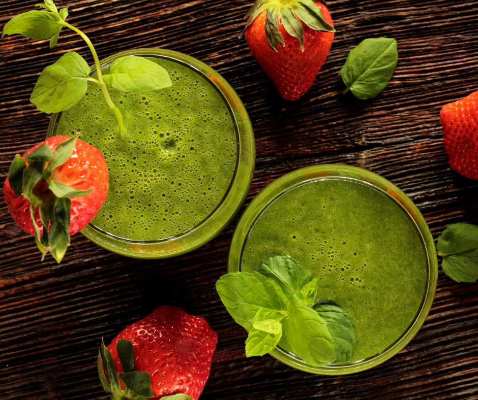 Detox drinks can help get rid of toxins.